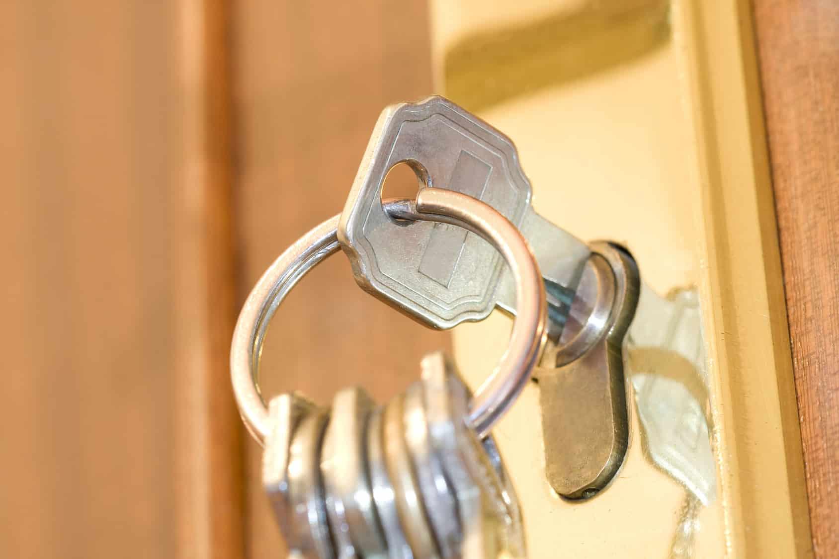 Les clés d'une porte