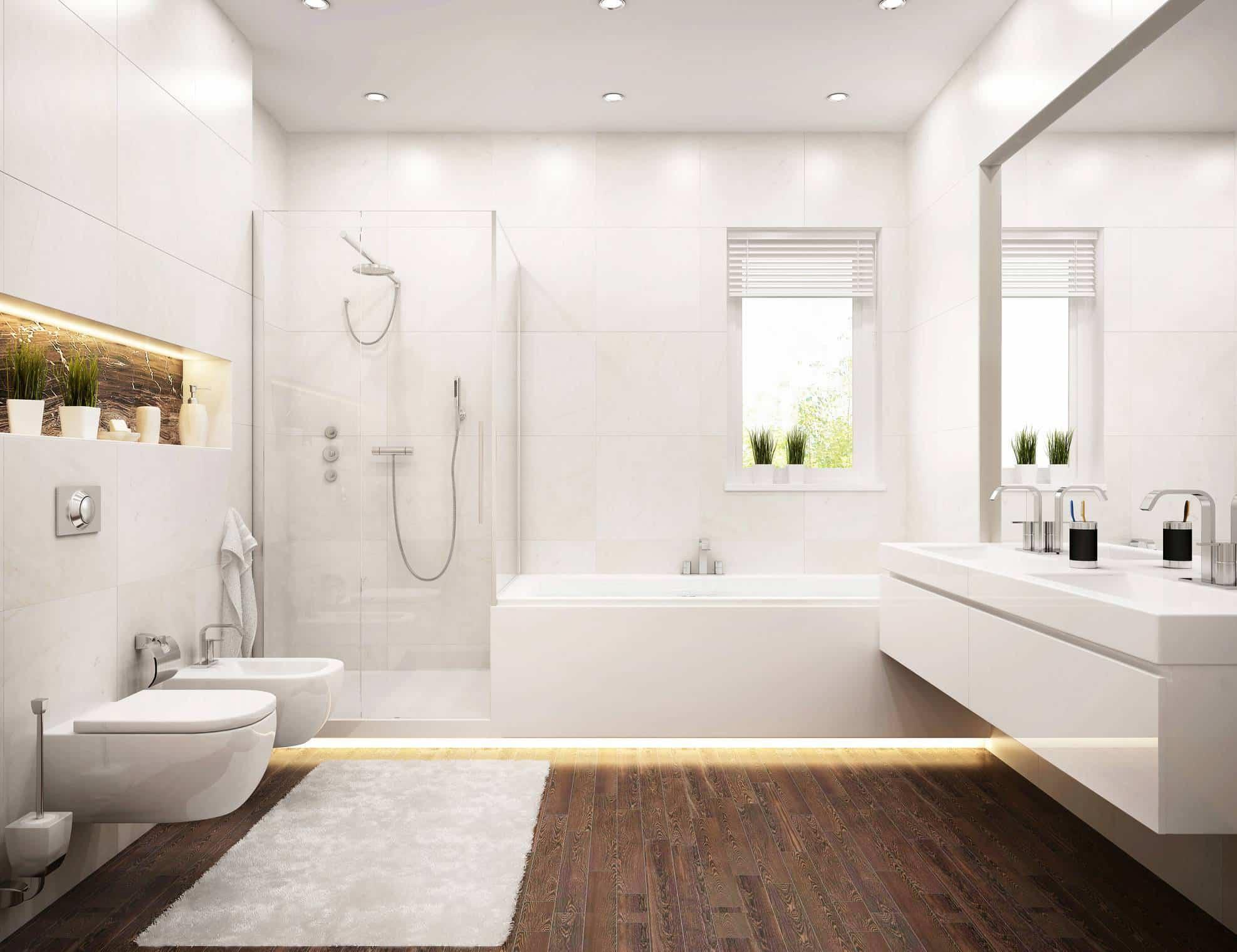 salle de bain chic astuce