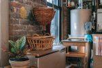 Une chaudière dans une cuisine