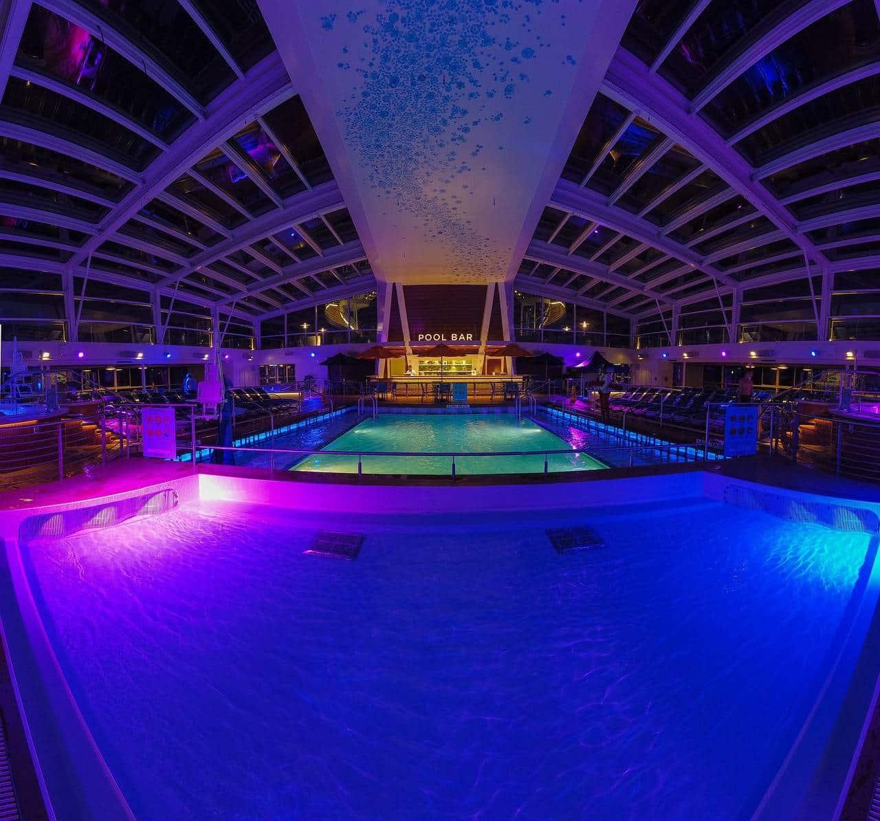 piscine éclairage