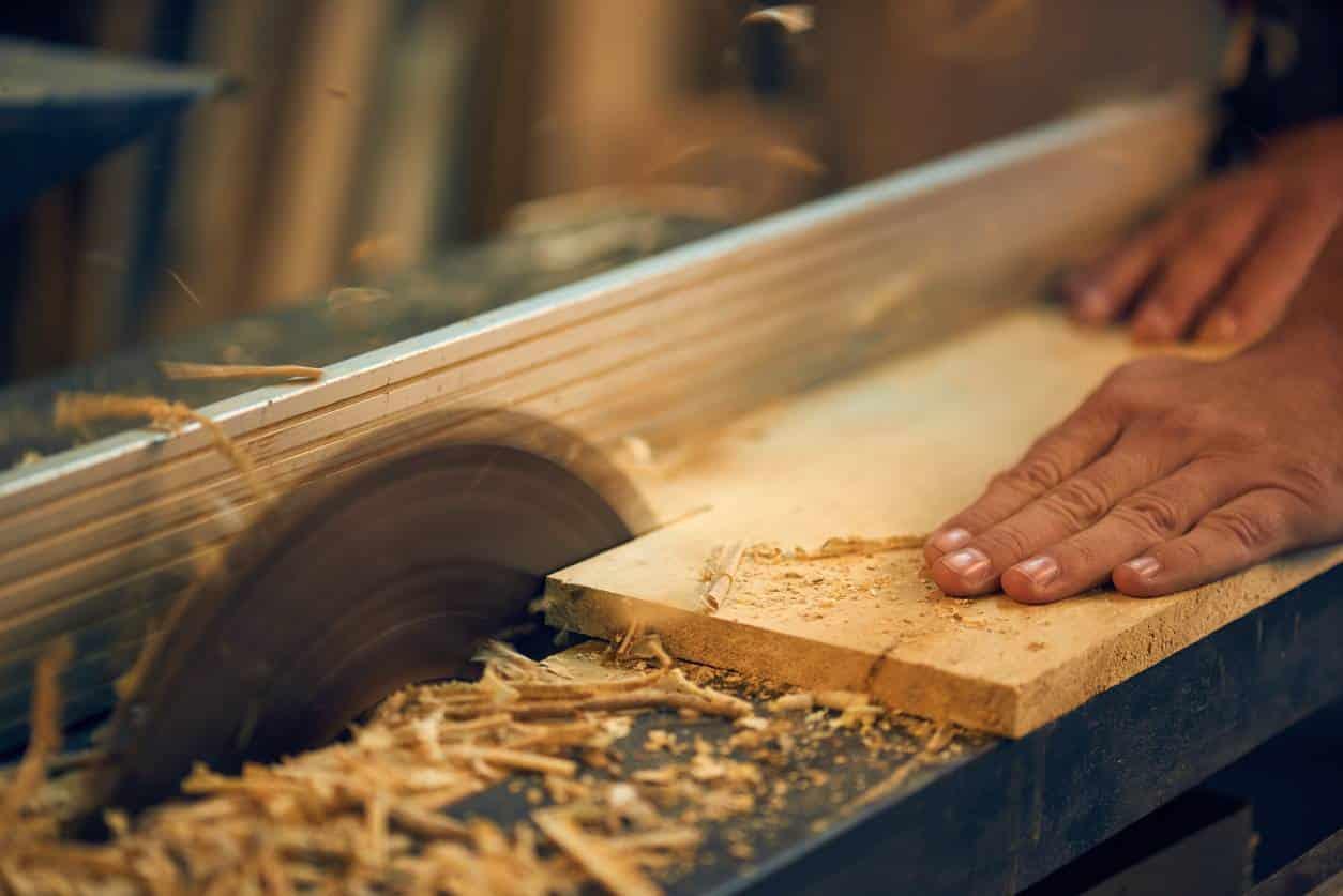 scie circulaire bois