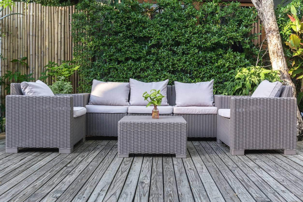 meuble de jardin pas cher