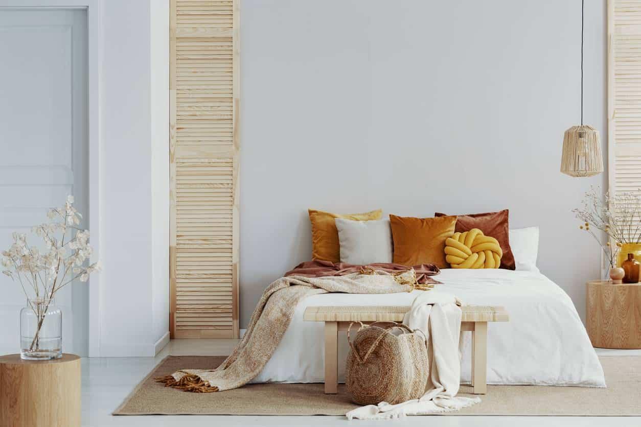 décoration toile tendue chambre