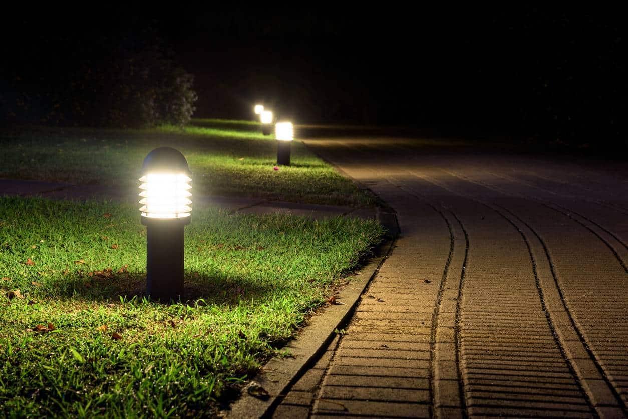éclairage LED extérieur